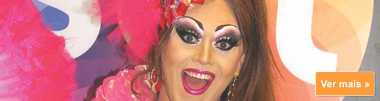 """Jornal Visão Oeste: """"Ser drag queen é uma arte"""""""